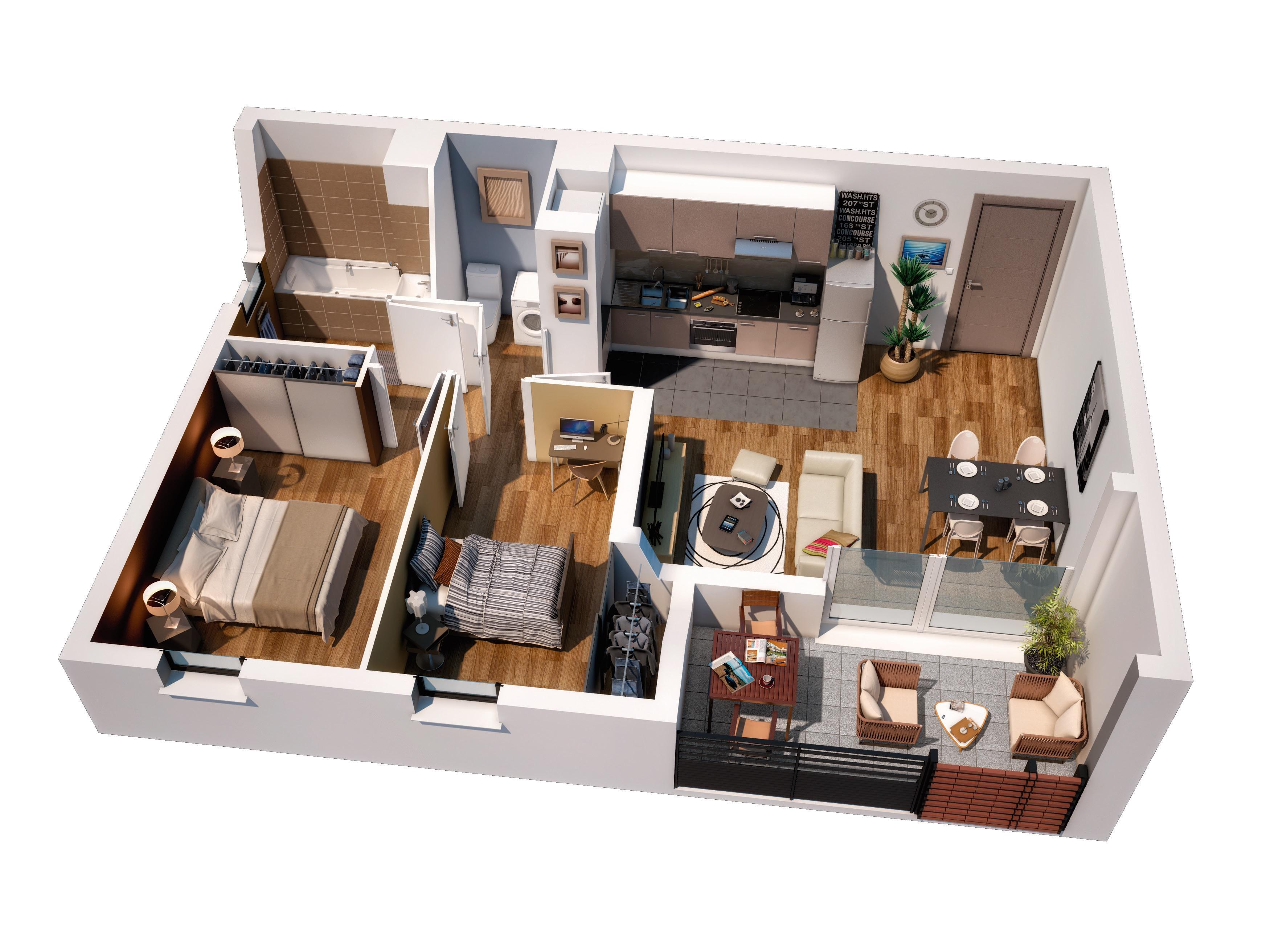appartement neuf plaisance du touch carre bastide. Black Bedroom Furniture Sets. Home Design Ideas