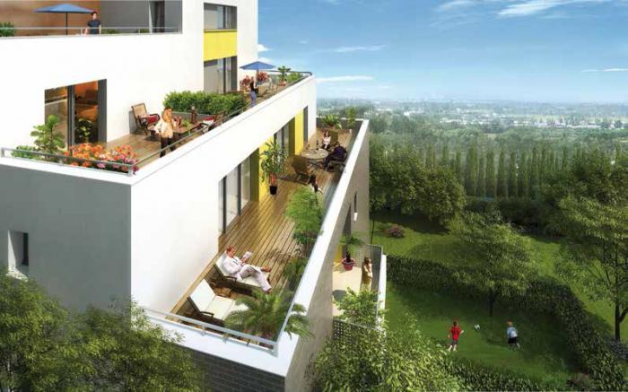 Appartement neuf toulouse les terrasses de l hers - Garage chateau de l hers toulouse ...