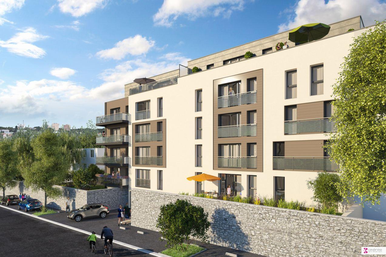 appartement neuf nantes les terrasses schuman. Black Bedroom Furniture Sets. Home Design Ideas