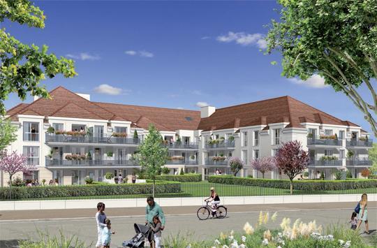 Appartement neuf aubergenville les jardins des arts for Jardin lazare rachline rue payenne paris 3eme