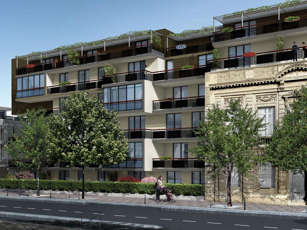Appartement neuf bordeaux jardin des millesimes for Prix appartement bordeaux